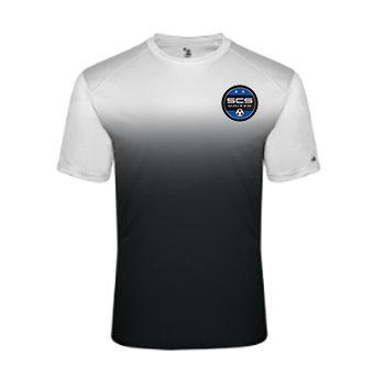 SCS-Ombre Performance Shirt-Left Chest Logo