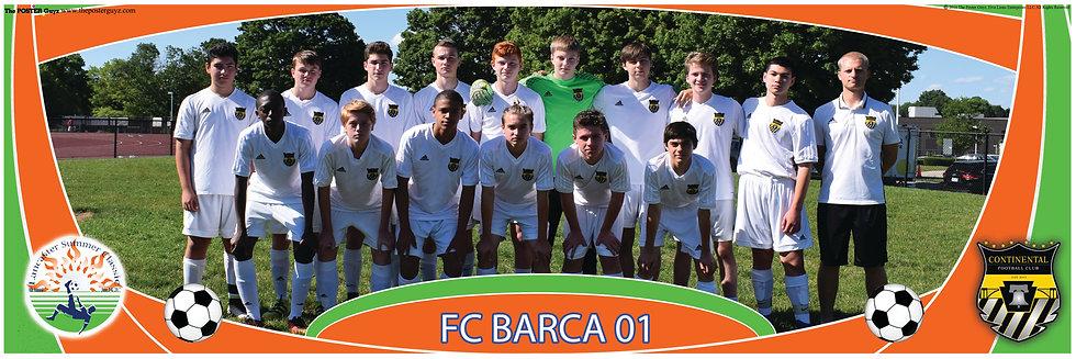 CONTINENTAL FC BARCA 01 U16B