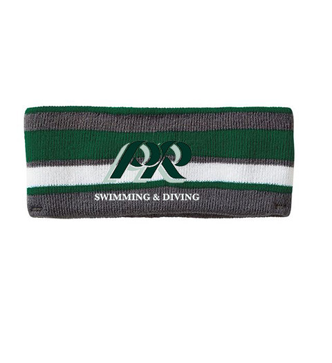 PRS&D-Striped Fleece Headband