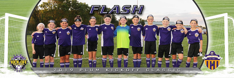 Plum Flash Girls u10 Silver