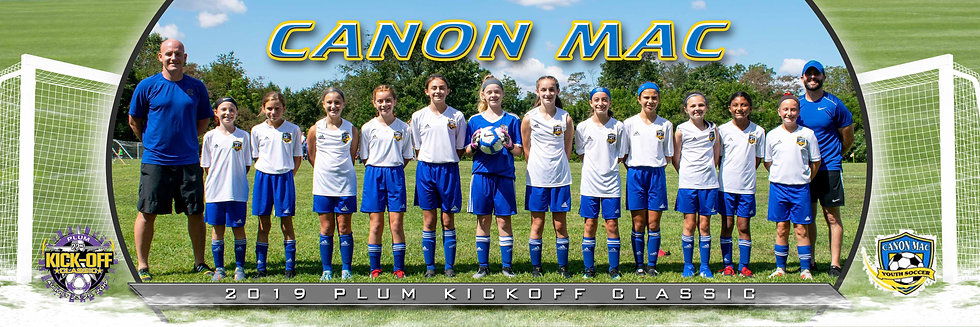Canon Mac (Robinson)  - Girls U12 GOLD