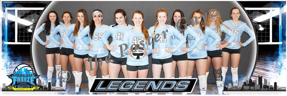Legends 15 Heroes