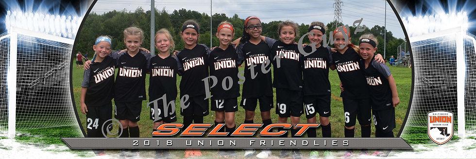 Baltimore Union 2011 Girls Select GU9
