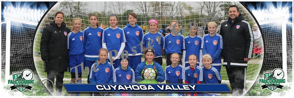 Cuyahoga Valley Soccer Academy CVSA 2006 White Girls U12