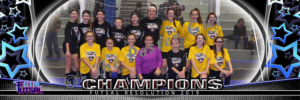 Dragons Girls Champions