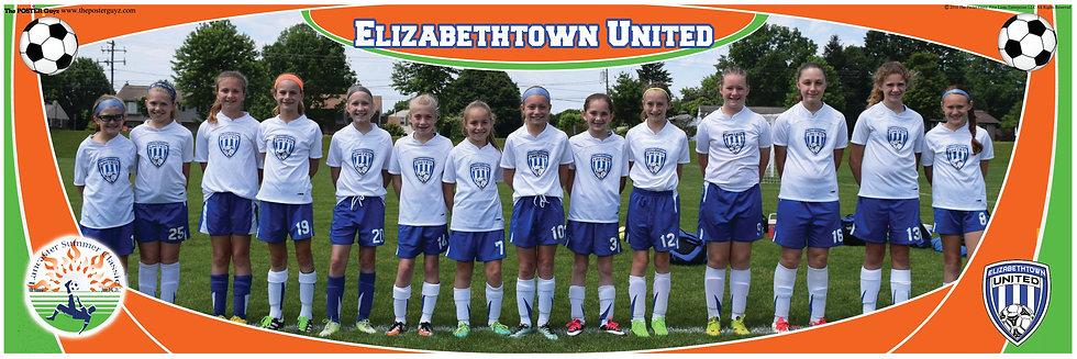Elizabethtown United Blue Sparx U11G
