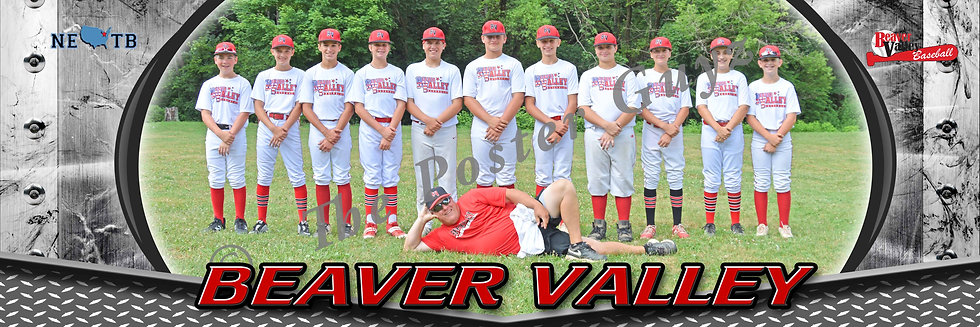 Beaver Valley Red 12U with coach