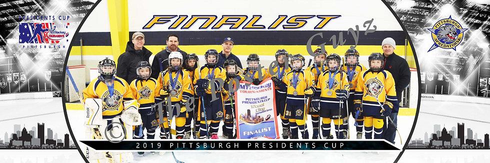Pittsburgh Predators Squirt A1 Finalist