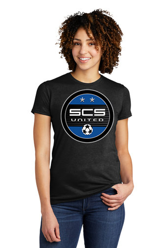 SCS-Women's Allmade Recycled Short Sleeve-Round Logo