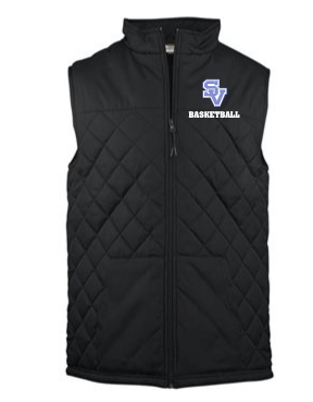 SVBBall-Badger Quilted Vest