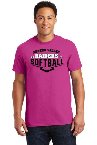 SVSoftball-Pink Short Sleeve Shirt