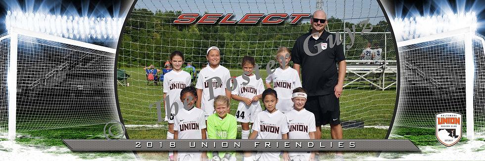 Baltimore Union 2010 Select GU9