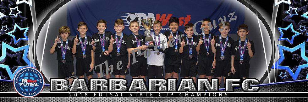 Barbarian FC 08 Boys u11B Champions