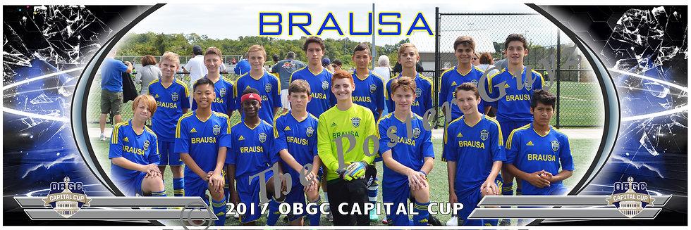 BRAUSA UNITED FUTEBOL BUFC BLUE 03 Boys U15