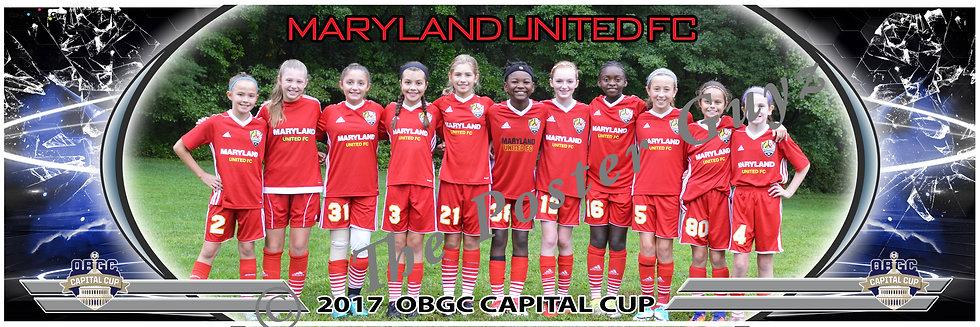 MARYLAND UNITED FC 2006 WHITE Girls U12