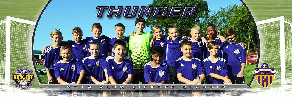 Plum Thunder Boys U13 Gold