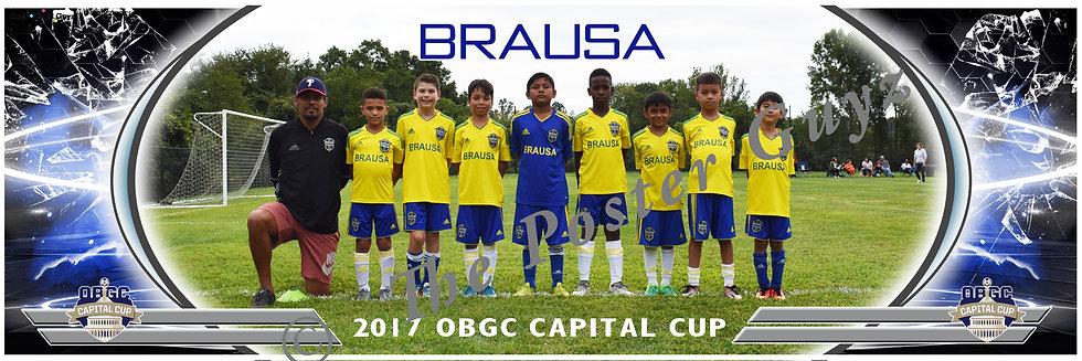 BRAUSA 08 BRAUSA - SANTOS Boys U10