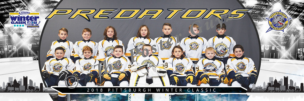 Pittsburgh Predators Squirt A1
