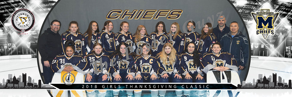 Mississauga Chiefs LAM U16-T2 PA with Coaches