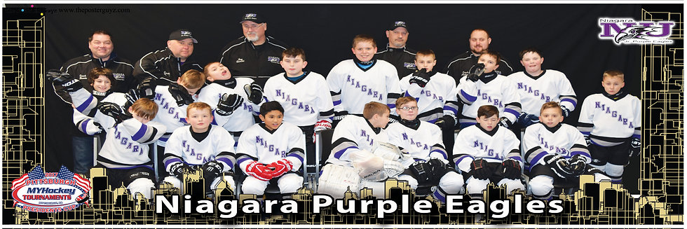 Niagara Purple Eagles Squirt B Funny