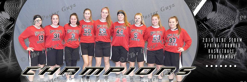 Ohio Elite Hoops - JV Girls Champions