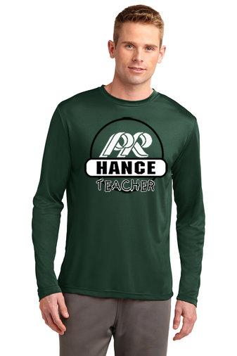 Hance-Long Sleeve Dri Fit-Round Logo