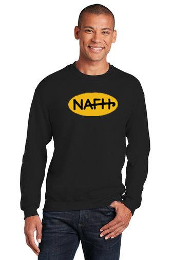 NAFH-Crewneck Sweatshirt-NAFH Logo