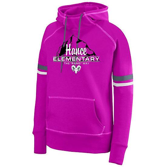 Hance-Women's Pink Spry Hoodie