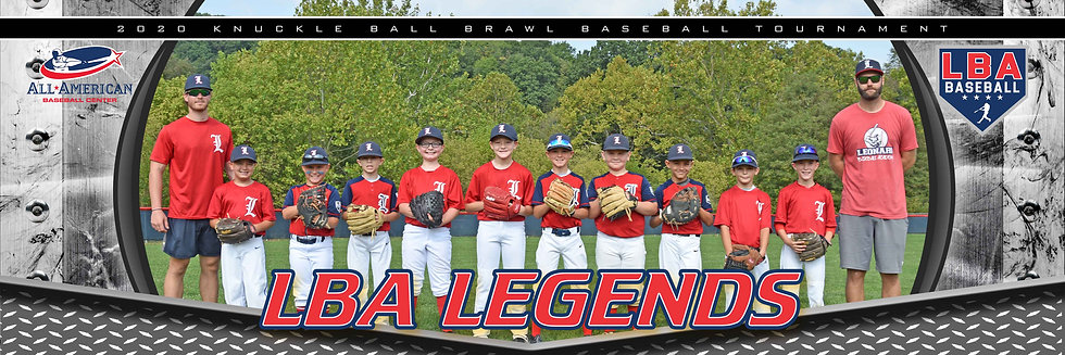 LBA Legends Blue 10U B with coaches
