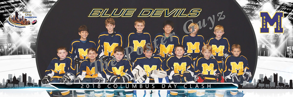 Montgomery Blue Devils Squirt B