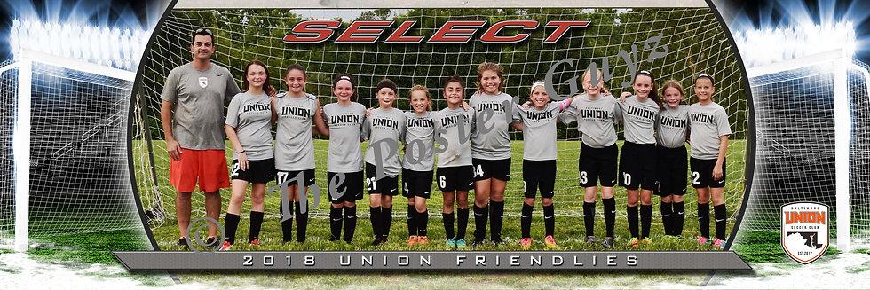 Baltimore Union SC Select 08 GU11