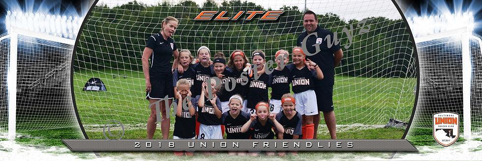 Baltimore Union sc 2011 Girls Elite GU9 Funny