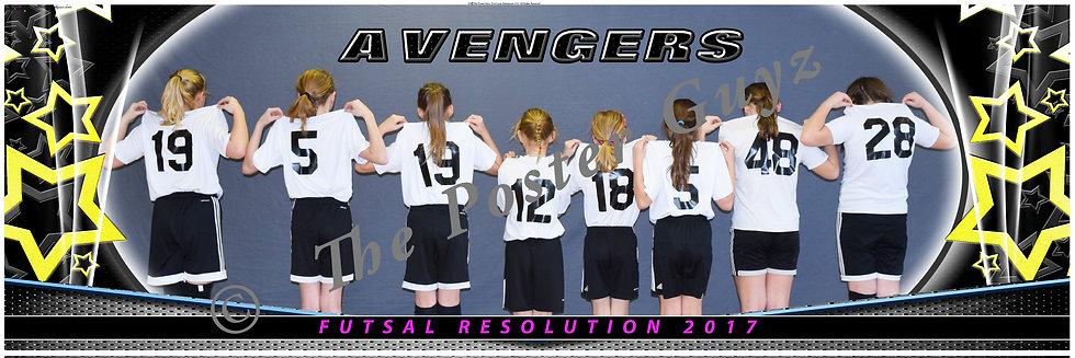 Avengers u12 G backs