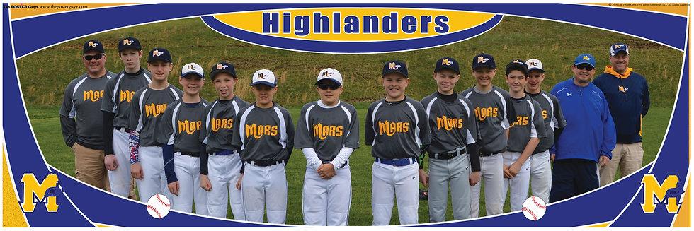 Highlanders Bronco