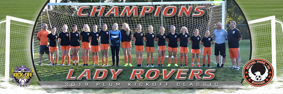 Bethel Park Lady Rover Girls U15 Gold Champions