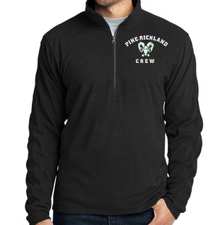 PR Crew-Men's Quarter Zip Fleece Jacket