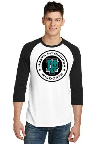 NP Wildcats-Baseball Style Shirt-Wildcat Round Logo