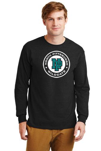 NP Wildcats-Long Sleeve Shirt-Wildcat Round Logo