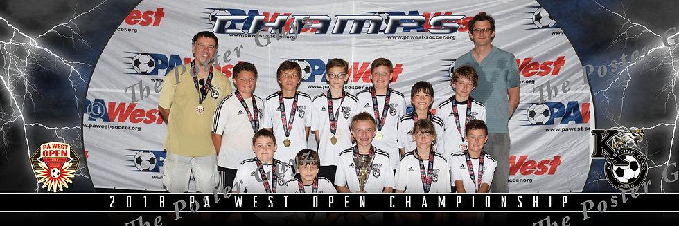 Keystone Oaks United 06B Wolfpack U12B Champions