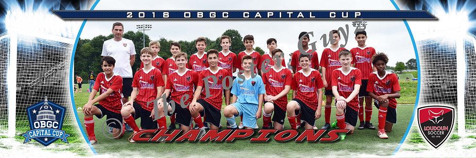 Loudoun Soccer 05B Black Boys Champions