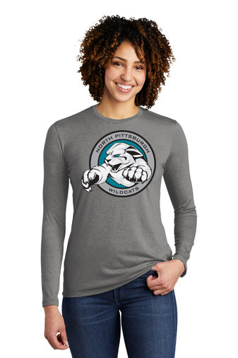 NP Wildcats-Women's Allmade Recycled Long Sleeve Shirt