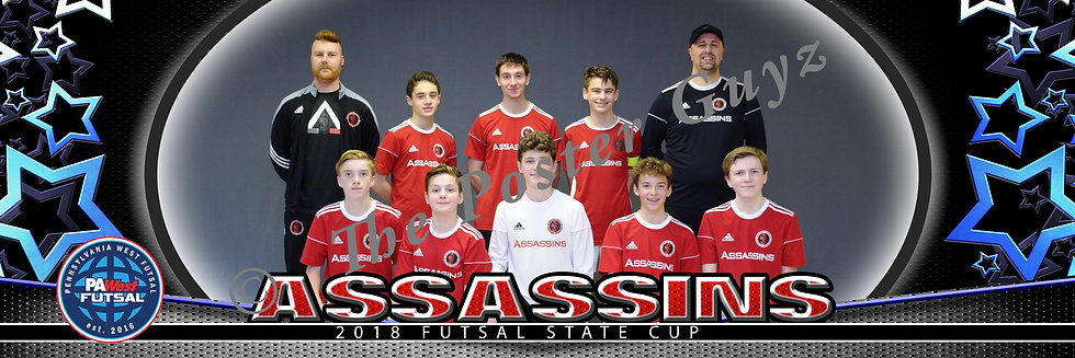 Assassins 04 Boys Red u15B