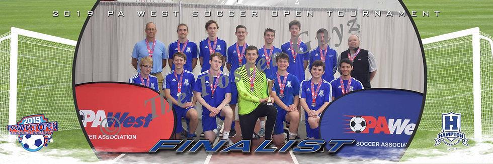 Hampton Soccer Club Edinboro Finalist