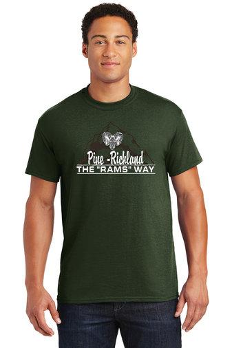 PRHance-Short Sleeve Shirt-Mountain Logo
