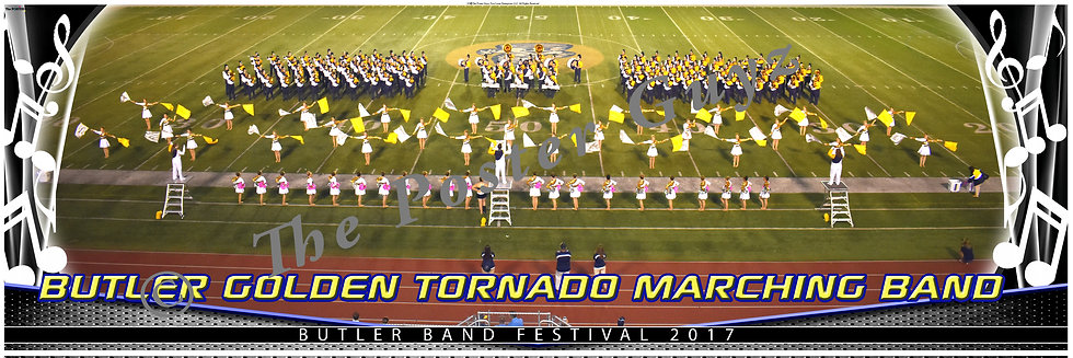 Butler Golden Tornado Marching Band version 5