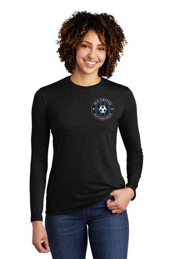 SCS-Women's Allmade Recycled Long Sleeve Shirt-Left Chest Logo