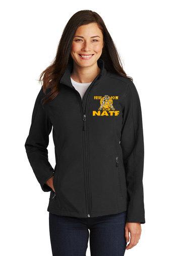 NATF-Women's Full Zip Soft Shell Jacket