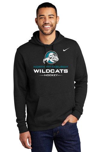 NP Wildcats-Nike Hoodie-Wildcat Logo 2