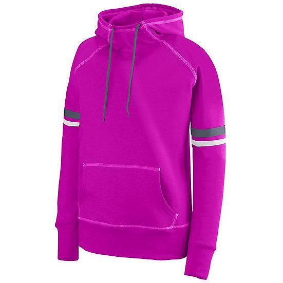 SVJuniorFootball-Women's Pink Spry Hoodie