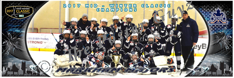 Markham Majors 2007 on ice champs